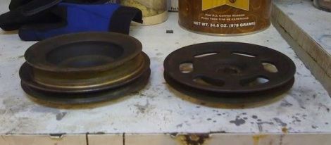 76 vs 81 Crank Pulleys